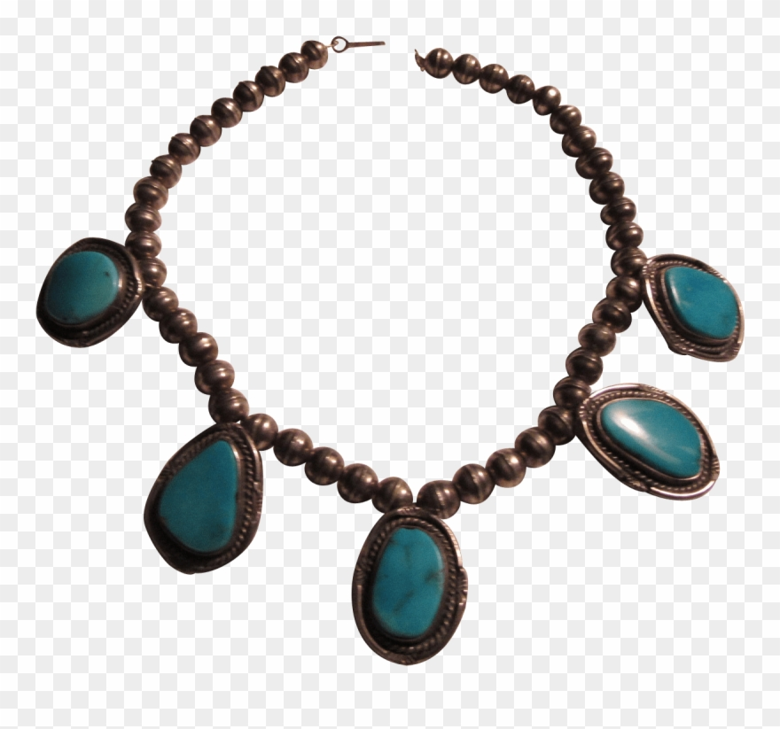 Pendants clipart banner library stock Native American Silver And Turquoise Pendants Necklace ... banner library stock
