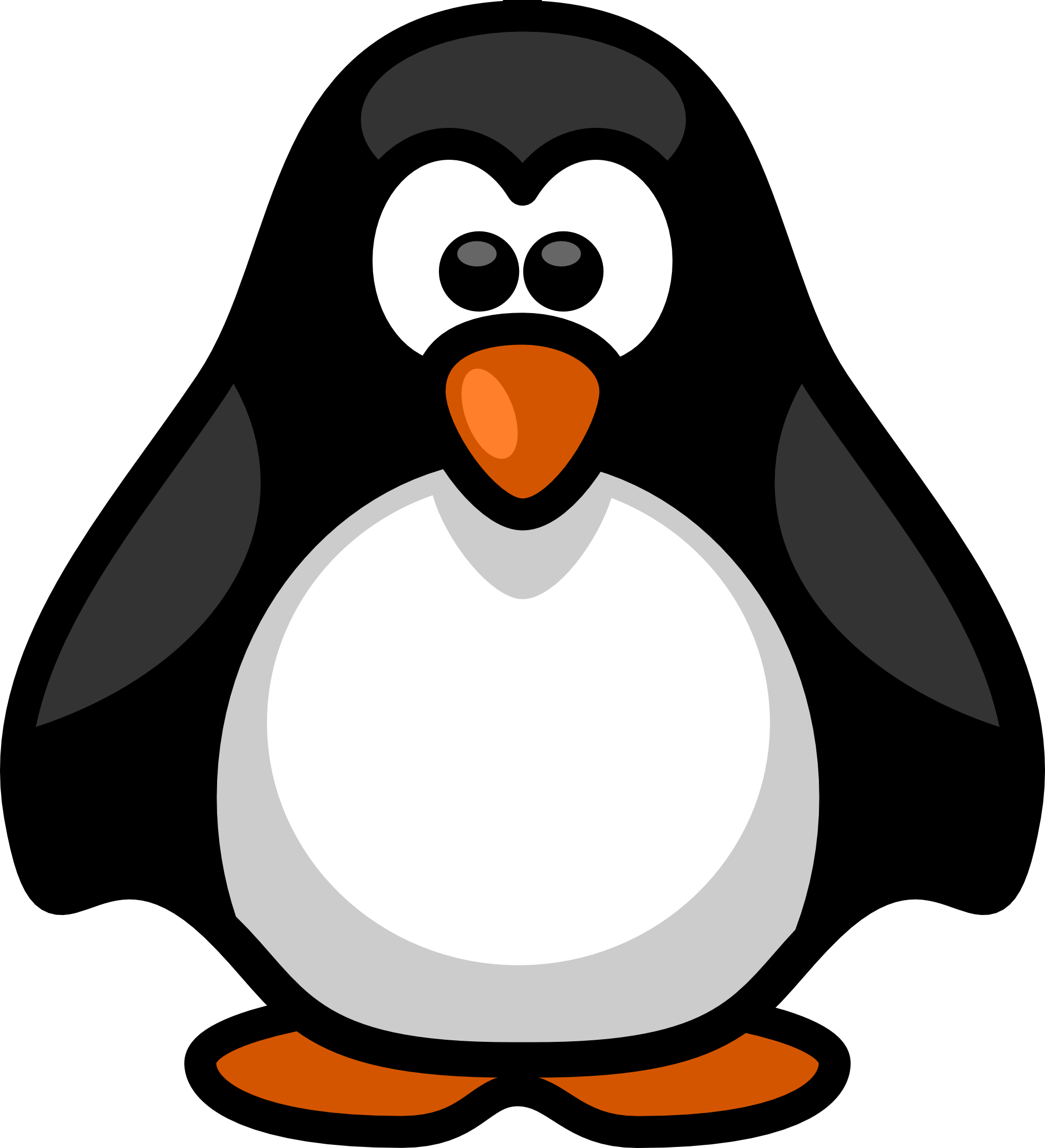 Penguin clipart picture royalty free library Best Penguin Clip Art #2701 - Clipartion.com picture royalty free library