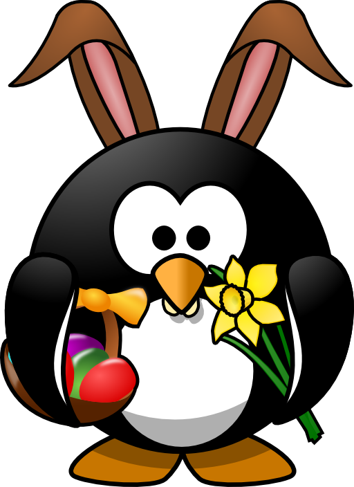 Penguin eating fish clipart graphic stock Bunny Penguin Clipart | i2Clipart - Royalty Free Public Domain Clipart graphic stock