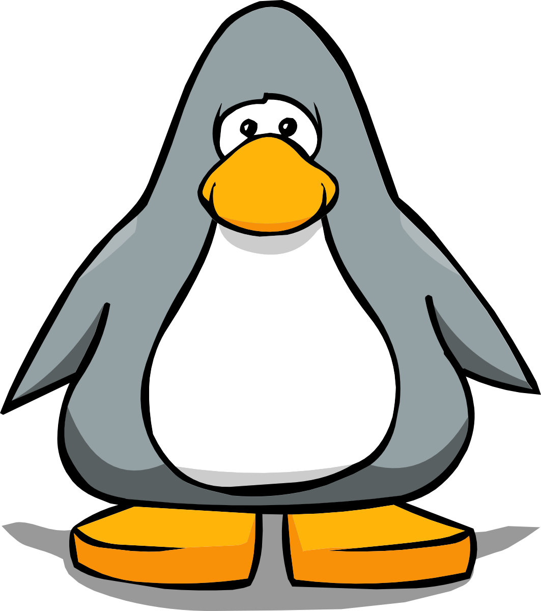 Penguin eating fish clipart png royalty free library Clipart penguin grey - Graphics - Illustrations - Free Download on ... png royalty free library