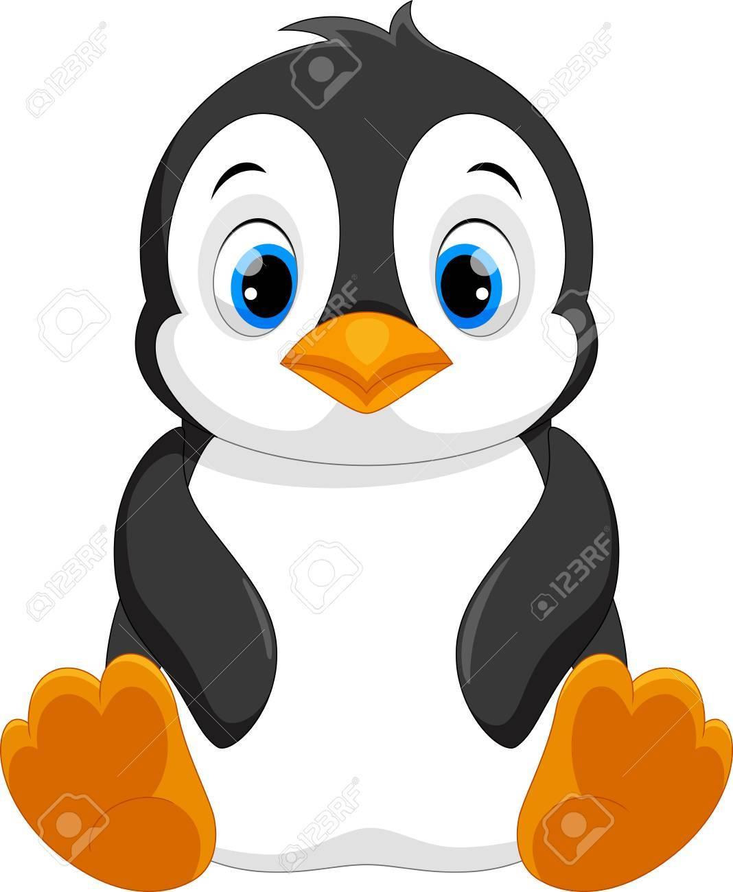 Penguin pictures clipart image transparent stock Cute baby penguin clipart 7 » Clipart Portal image transparent stock