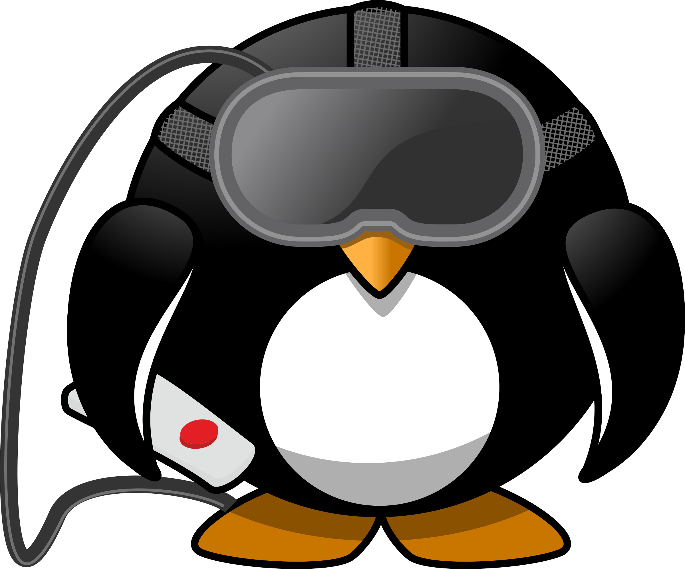 Penguin reading a book clipart image free library Virtual Reality Penguin Icons PNG - Free PNG and Icons Downloads image free library