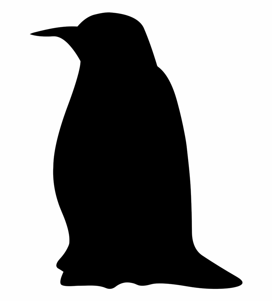 Penguin silhouette clipart library Silhouette - Penguin - Penguin Clip Art Black Free PNG ... library