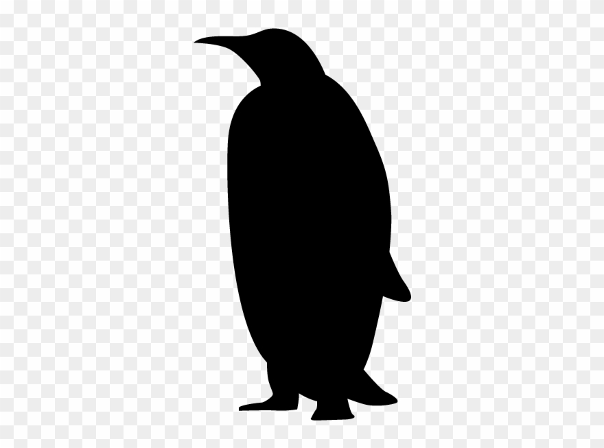 Penguin silhouette clipart vector library library Penguin - Silhouette - Animals Illustration - Giant Penguins ... vector library library
