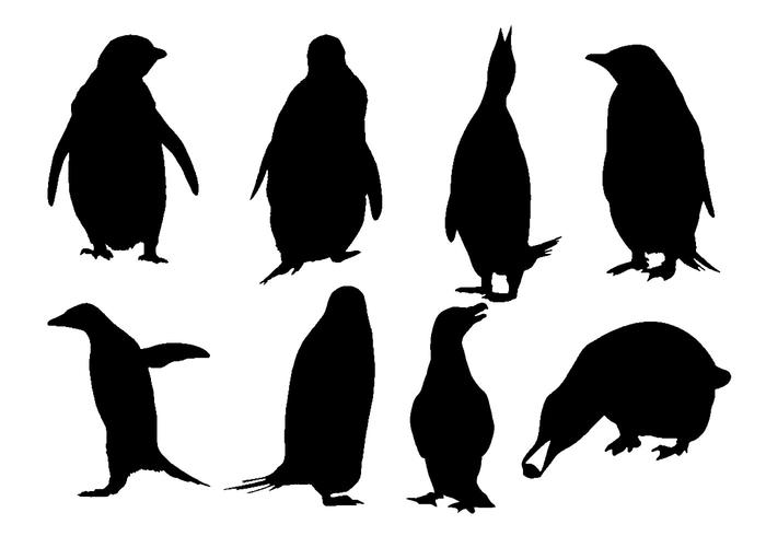 Penguin silhouette clipart jpg transparent download Free Penguin Silhouette Vector - Download Free Vectors ... jpg transparent download