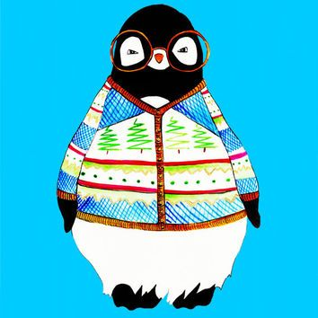 Penguin sweater clipart graphic black and white The Best Naughty And Inappropriate Ugly Christmas Sweaters ... graphic black and white