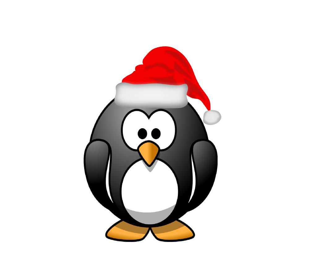 Penguin with book clipart image transparent stock clipartist.net » Clip Art » penguin santa hat xmas christmas twitter SVG image transparent stock