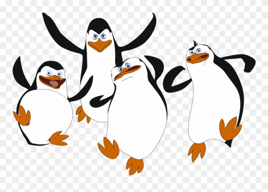 Penguins of madagascar clipart graphic free stock Penguin Clip Art Transparent Background - Penguins Of ... graphic free stock
