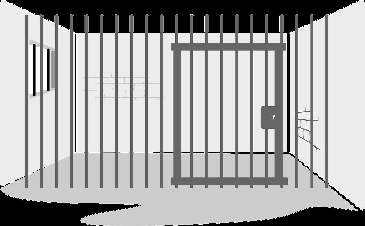 Pennitentiary clipart svg black and white Alcatraz Federal Penitentiary Prison cell Open prison ... svg black and white
