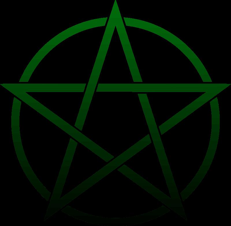 Pentacle clipart clip art royalty free stock Pentagram Pentacle Symbol Clip art - dark green png download ... clip art royalty free stock