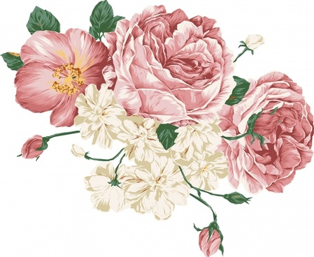 Peony clipart free clipart Peony free vector download (85 Free vector) for commercial ... clipart