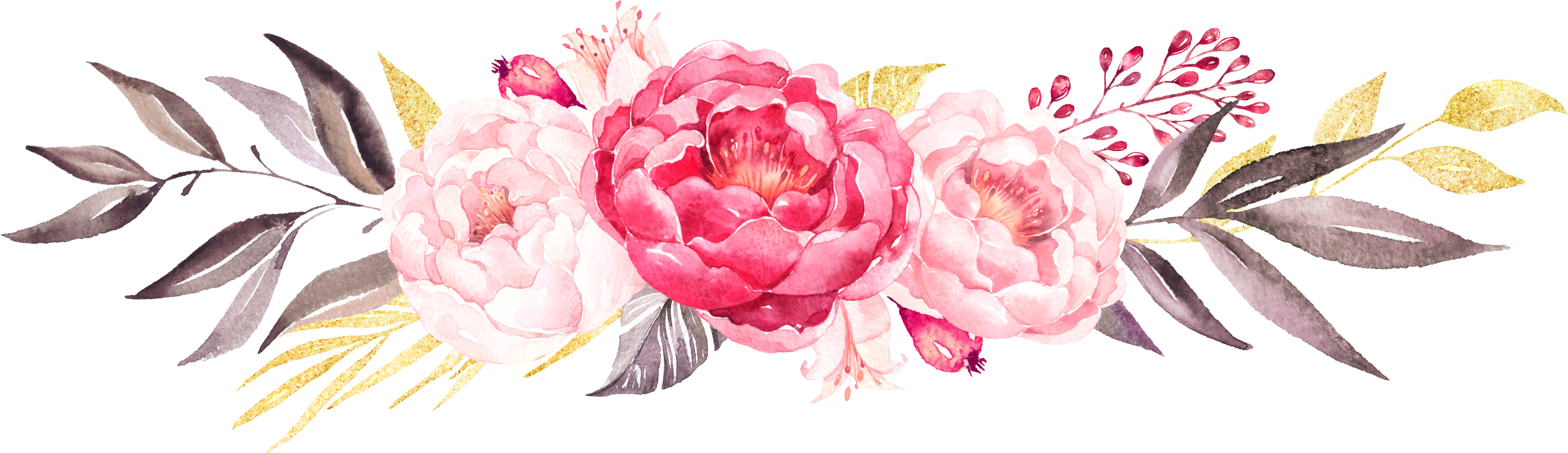 Peony crown clipart jpg royalty free library watercolour | watercolour花组 | Pinterest | Watercolor jpg royalty free library