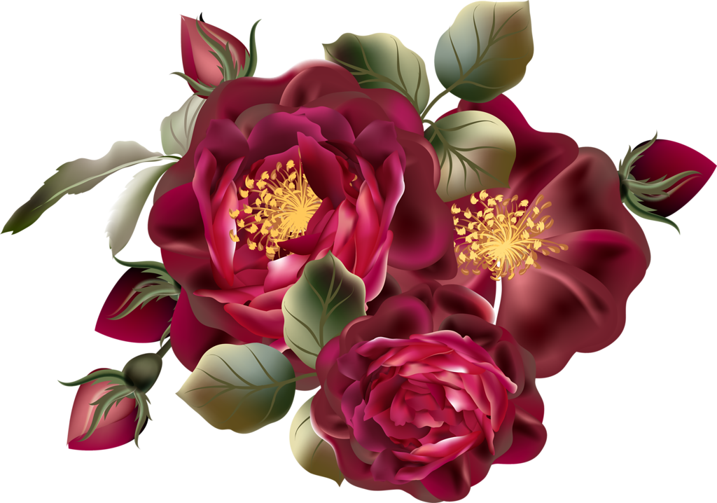 Peony crown clipart banner free library Beautiful Roses #3 (45).png | Pinterest | Flower art, Scrap and Album banner free library