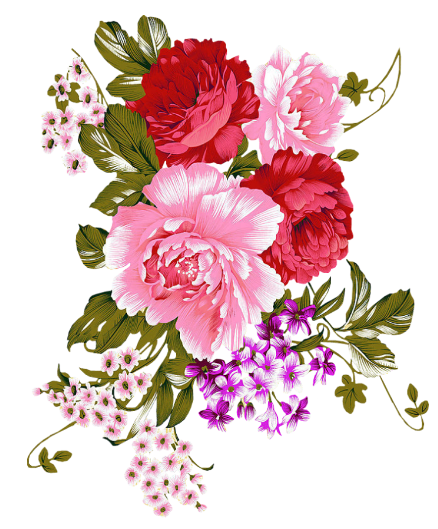 Peony crown clipart clipart black and white Pin by ДжейДи on ВИНТАЖ. РЕТРО. КЛИПАРТ. | Pinterest | Kurti clipart black and white