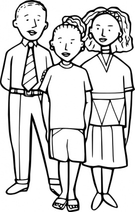 People and places clipart black and white jpg transparent library Free Black People Cliparts, Download Free Clip Art, Free ... jpg transparent library
