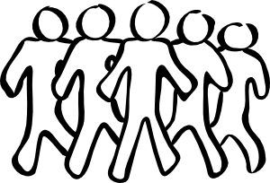 People and places clipart black and white vector black and white stock Free Black People Cliparts, Download Free Clip Art, Free ... vector black and white stock