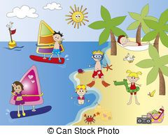 People at the beach clipart svg freeuse download People at beach clipart 4 » Clipart Portal svg freeuse download