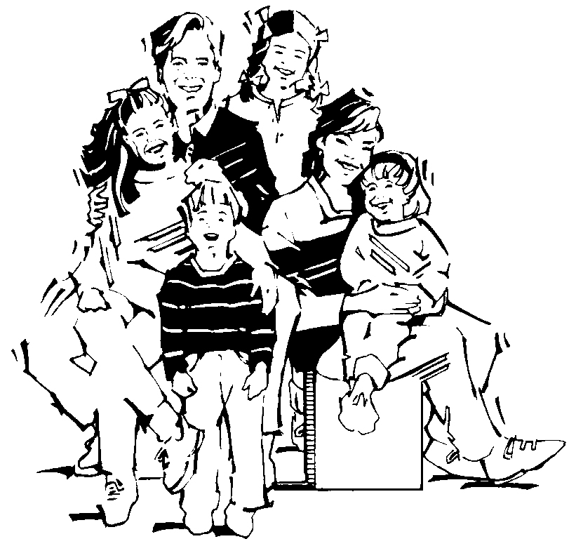 People blackline clipart clip library download Images Families | Free Download Clip Art | Free Clip Art | on ... clip library download