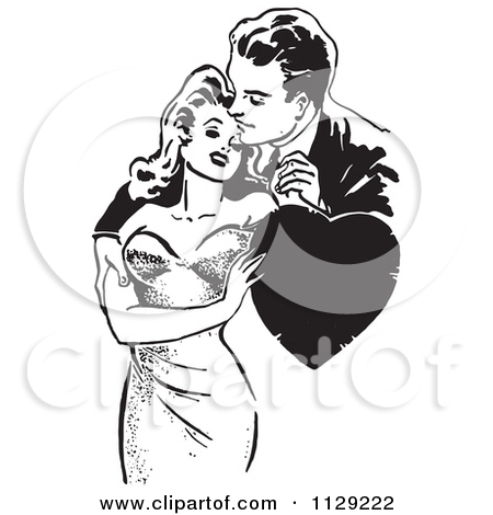 People blackline clipart image free library Royalty-Free (RF) Black And White Clipart, Illustrations, Vector ... image free library