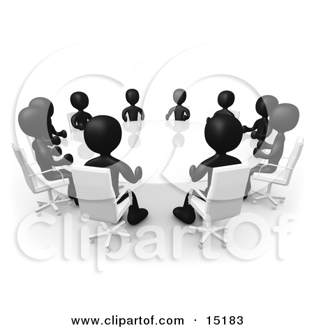 People blackline clipart jpg library stock Royalty-Free (RF) Black And White Clipart, Illustrations, Vector ... jpg library stock