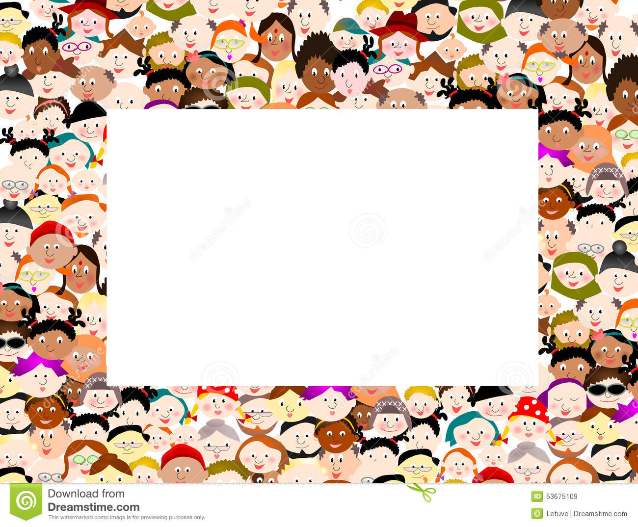 People border clipart freeuse download People clipart border - ClipartFest freeuse download