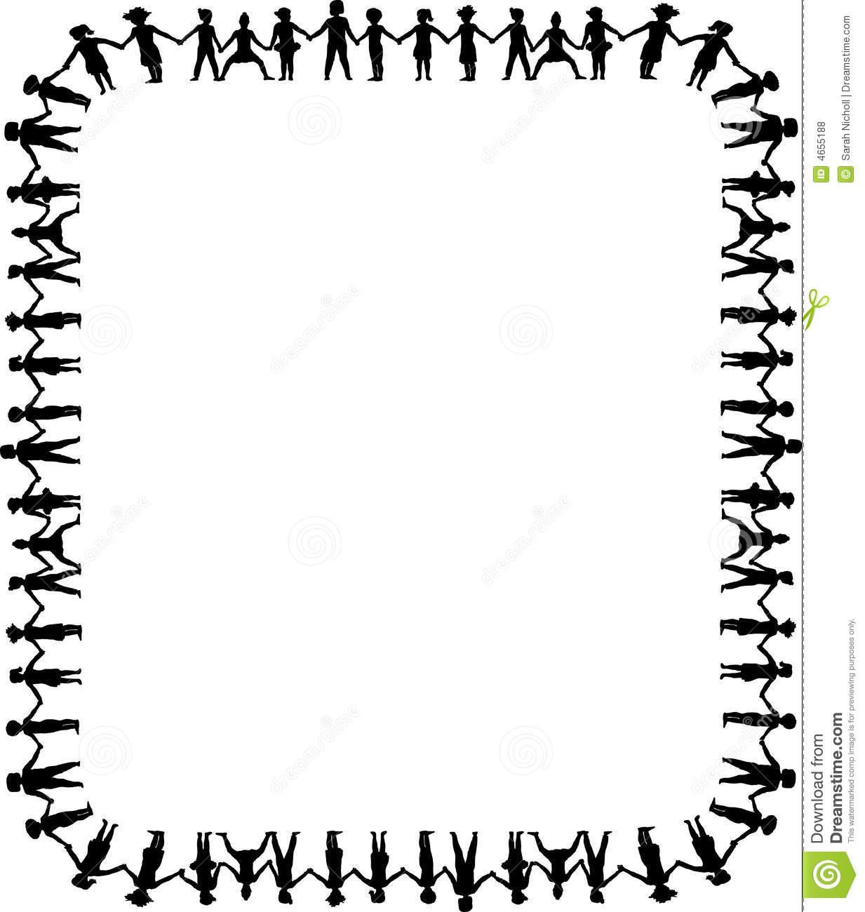 People border clipart jpg freeuse stock People clipart border - ClipartFest jpg freeuse stock