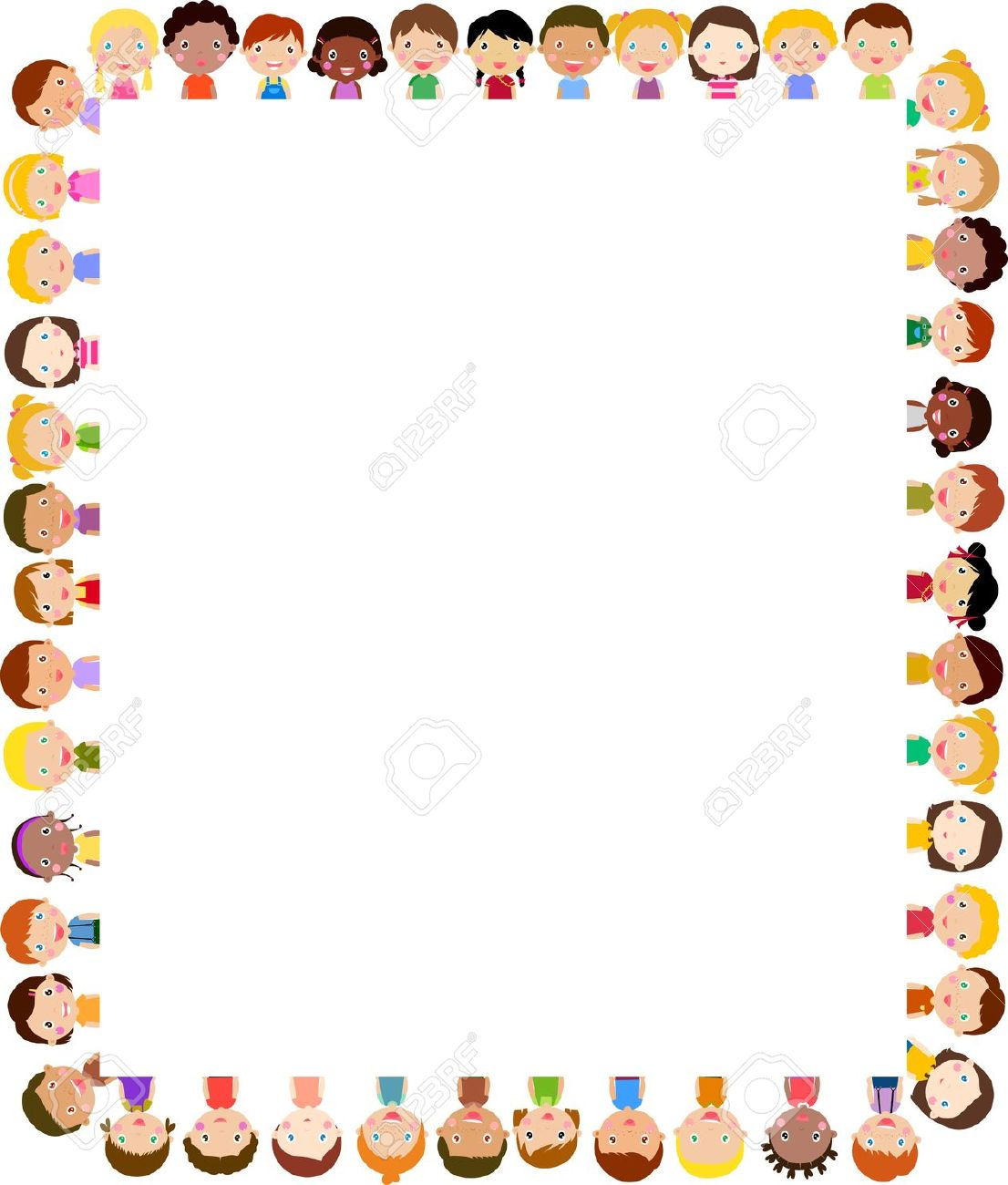 People border clipart banner freeuse library People border clipart - ClipartFest banner freeuse library