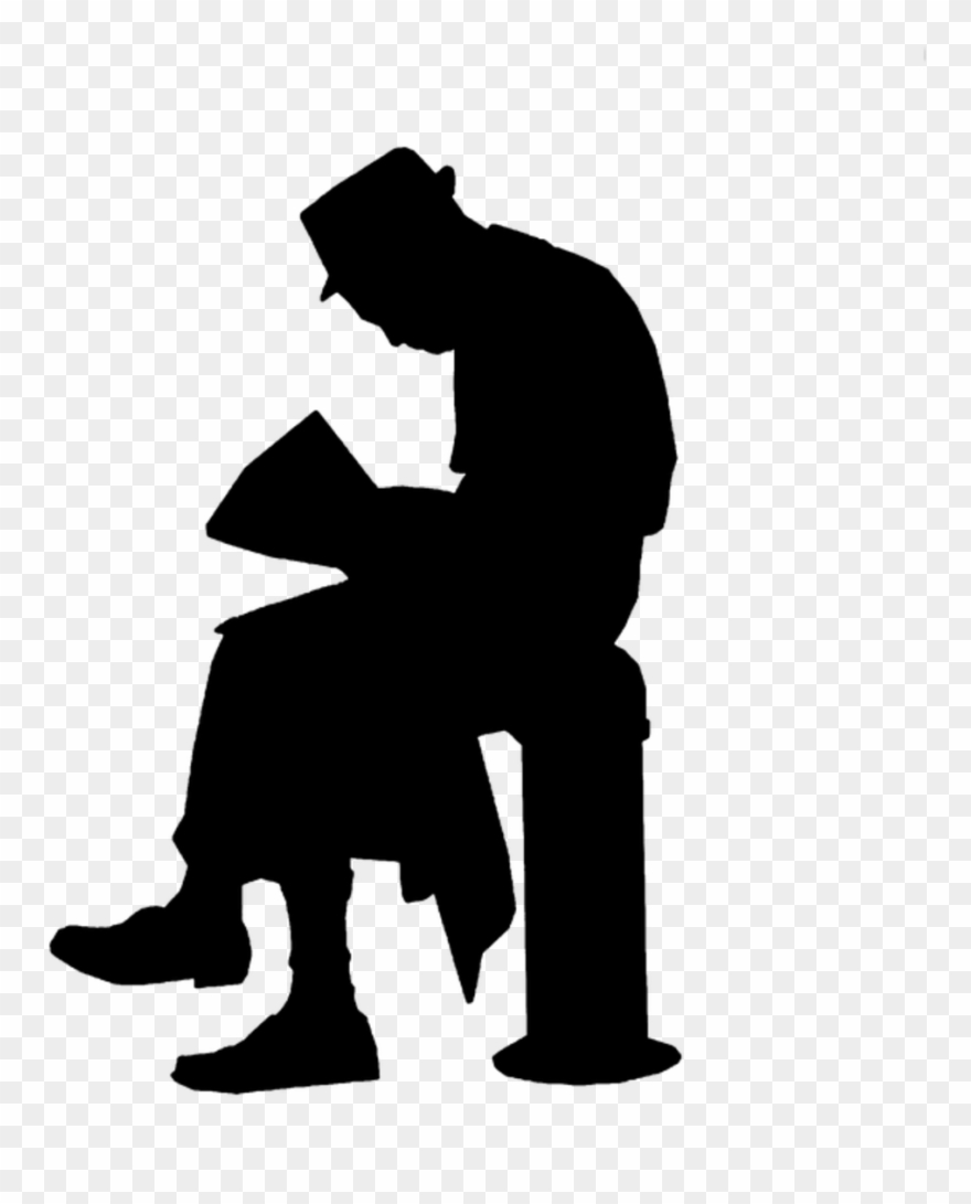 People clipart architecture png black and white library People Silhouette Architecture Sitting Clipart (#3713599 ... png black and white library
