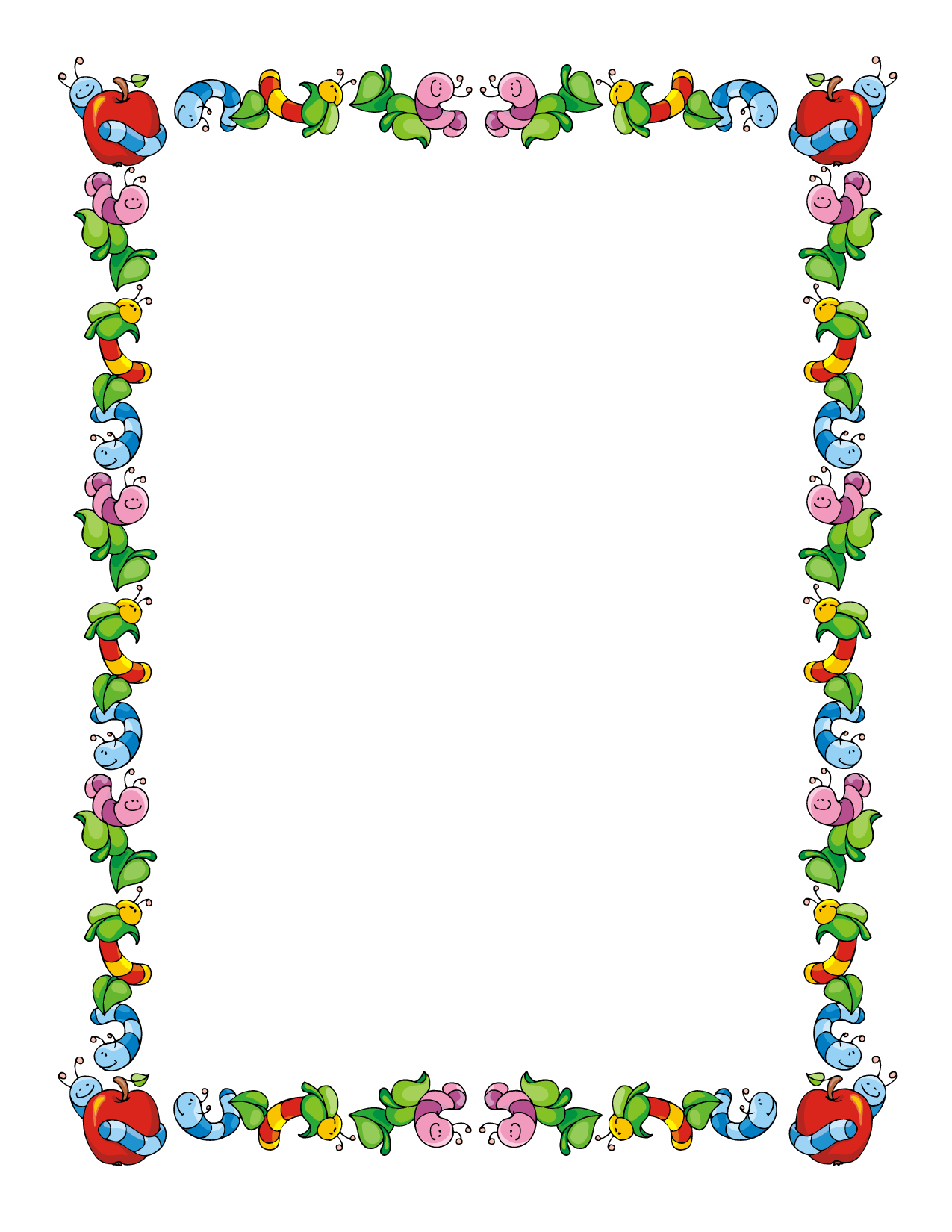 People clipart border vector library Science Page Borders Clipart - Clipart Kid vector library
