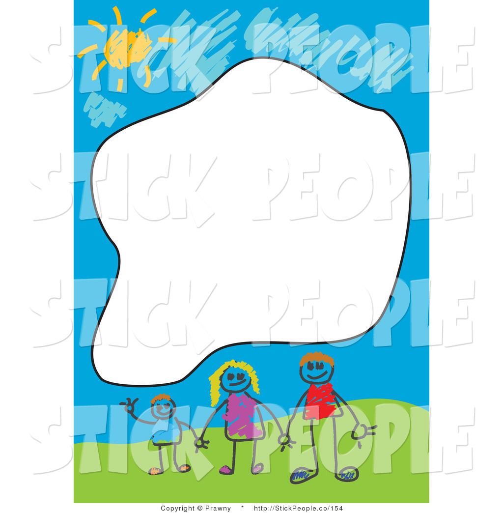 People clipart border png free download Royalty Free Stock Stick People Designs of Borders png free download