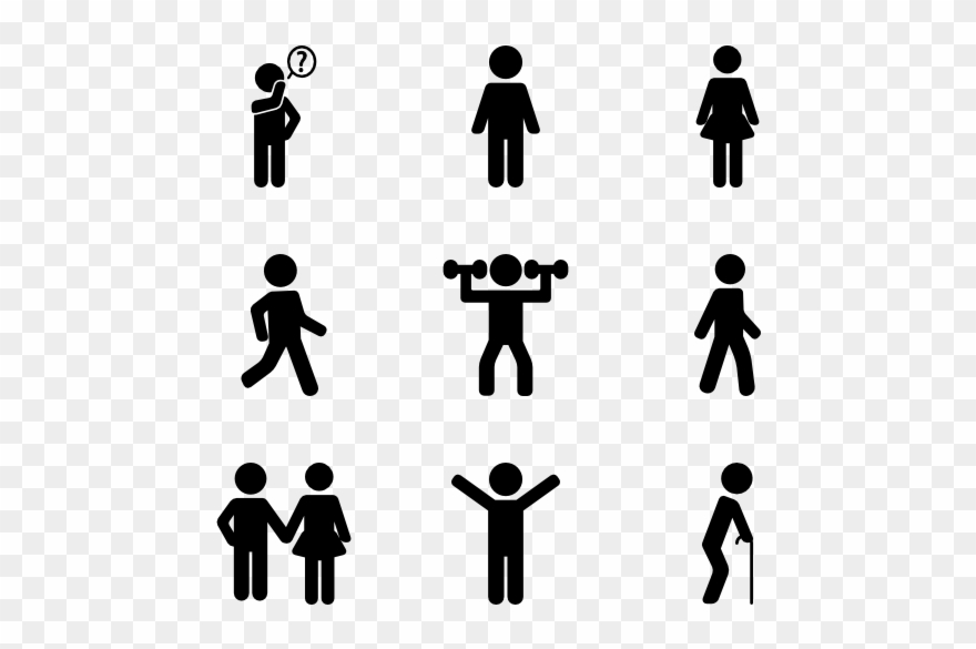 People clipart images for photoshop picture free download Silhouette Action Photoshop - People Action Icon Clipart ... picture free download