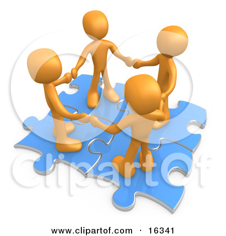 People connection clipart border banner transparent stock Royalty-Free (RF) Teamwork Clipart, Illustrations, Vector Graphics #1 banner transparent stock