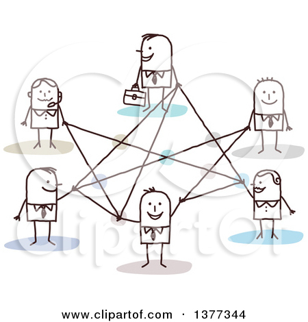 People connection clipart border clip art black and white stock Royalty-Free (RF) Connection Clipart, Illustrations, Vector ... clip art black and white stock
