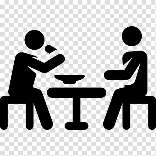 People eating clipart black and white transparent clipart download Computer Icons Eating, PEOPLE EATING transparent background ... clipart download