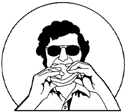 People eating clipart black and white png clip black and white library Free People Eating Clipart. Free Clipart #130295 - PNG ... clip black and white library
