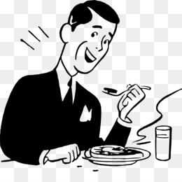 People eating clipart black and white png graphic freeuse library Person Eating Drawing at PaintingValley.com | Explore ... graphic freeuse library