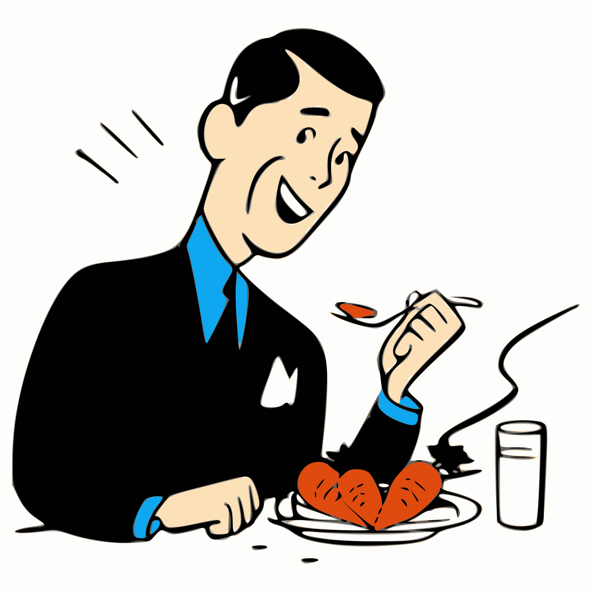 People eating clipart black and white png svg download Pictures Of People Eating | Free download best Pictures Of ... svg download