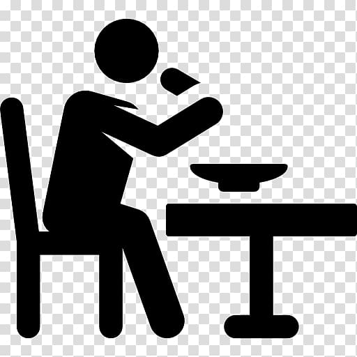 People eating clipart black and white transparent picture black and white library Eating Computer Icons Restaurant, PEOPLE EATING transparent ... picture black and white library