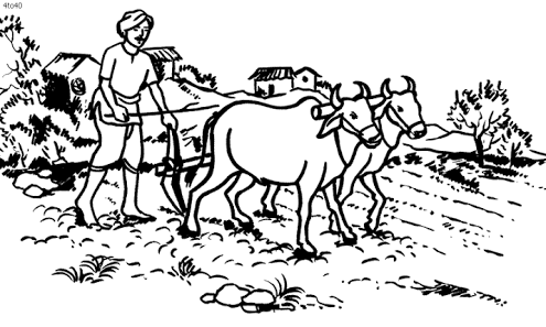 People in villege clipart black and white vector download Image result for indian farmers in india drawings | Sketch ... vector download