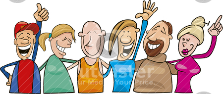 People laughing clipart image freeuse download Clip Art Group Of People Laughing Clipart - Clipart Kid image freeuse download