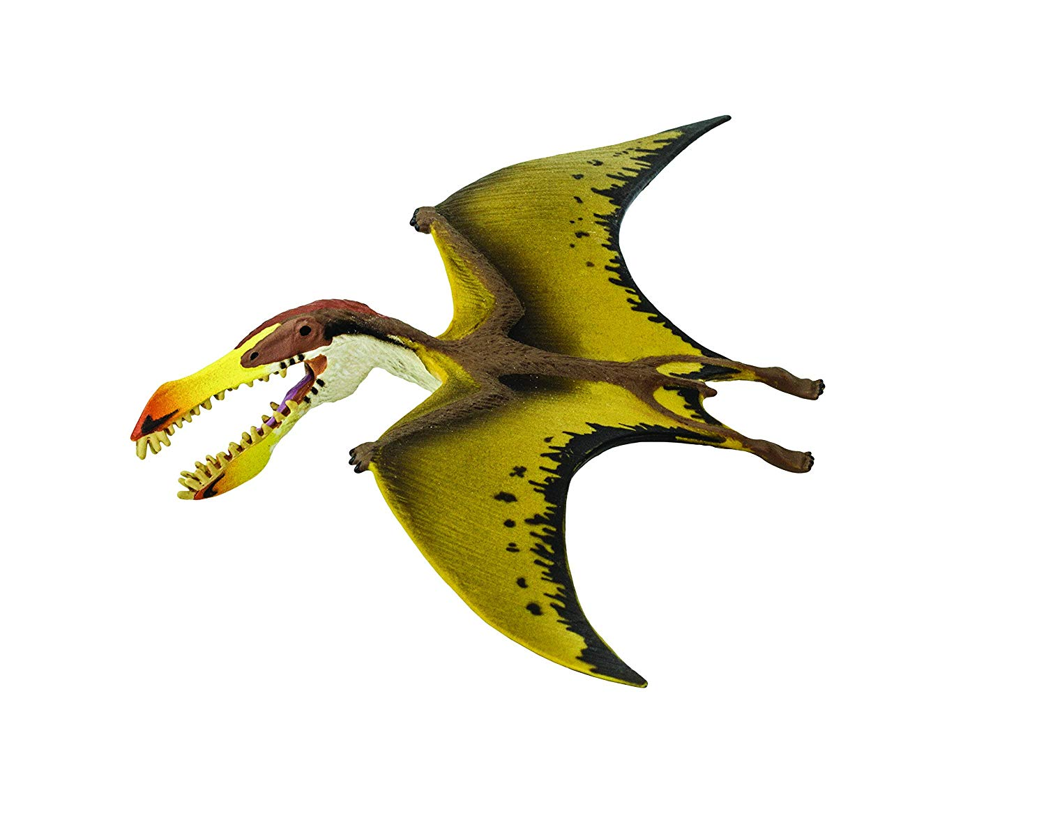 People on top of a pterodactyl clipart png black and white stock Toob Dino Pterosaur png black and white stock