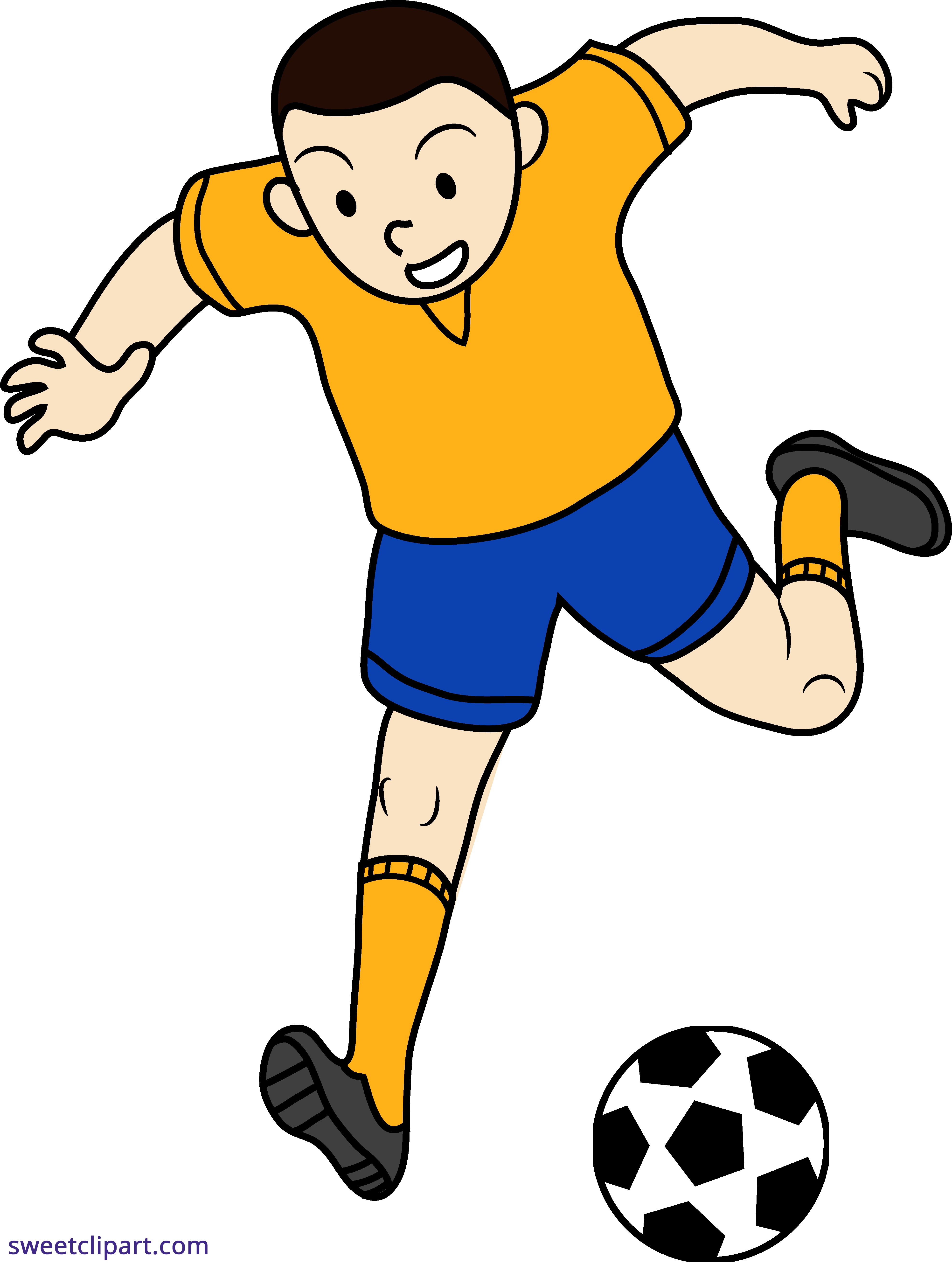 People playing soccer clipart vector library Boy playing soccer clipart clipart images gallery for free ... vector library