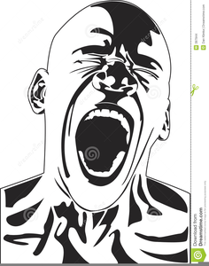 People screaming clipart clipart transparent stock Person Screaming Clipart | Free Images at Clker.com - vector ... clipart transparent stock