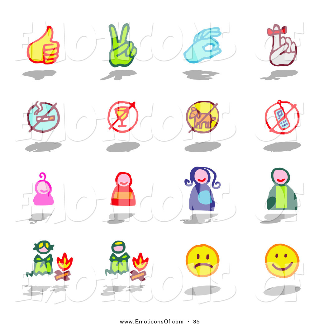 People using sign language clipart picture black and white Clip Art Vector of a Digital Collage of 12 Sign Language ... picture black and white