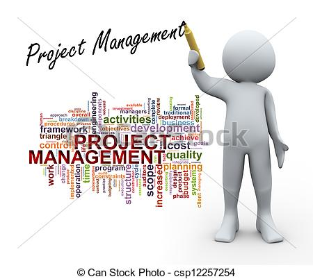 People vs projects clipart svg black and white Project Management Clipart & Project Management Clip Art Images ... svg black and white
