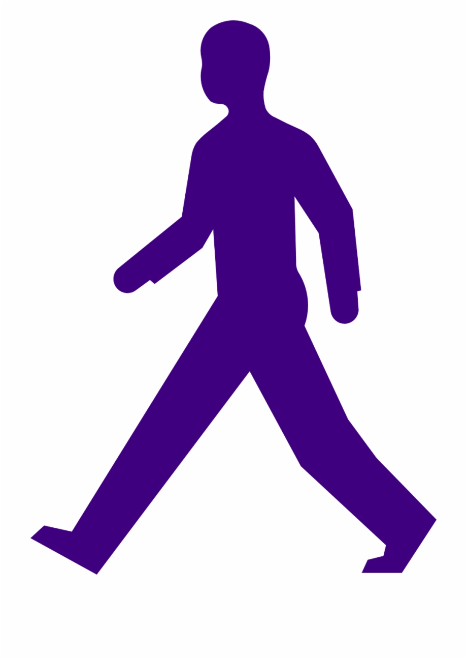Walking man clipart svg freeuse library Man Walking Purple Silhouette Png Image - Clipart Person Walking ... svg freeuse library