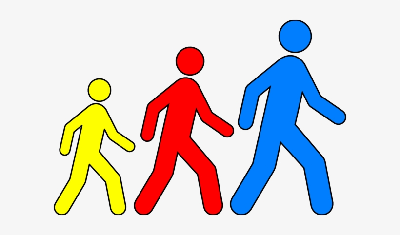 People walking towards clipart svg library download Free Cliparts Walking - Free Clipart People Walking PNG ... svg library download