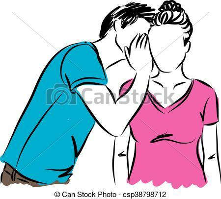 People whispering clipart image freeuse library People whispering clipart 4 » Clipart Portal image freeuse library