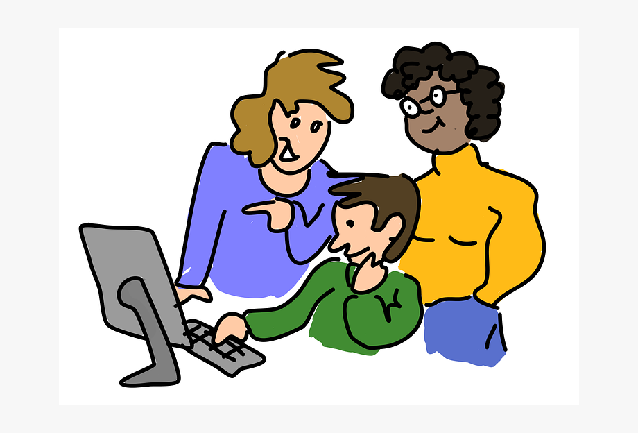 People working clipart clip art free library Blog Welcome Back To School We Will - People Working ... clip art free library