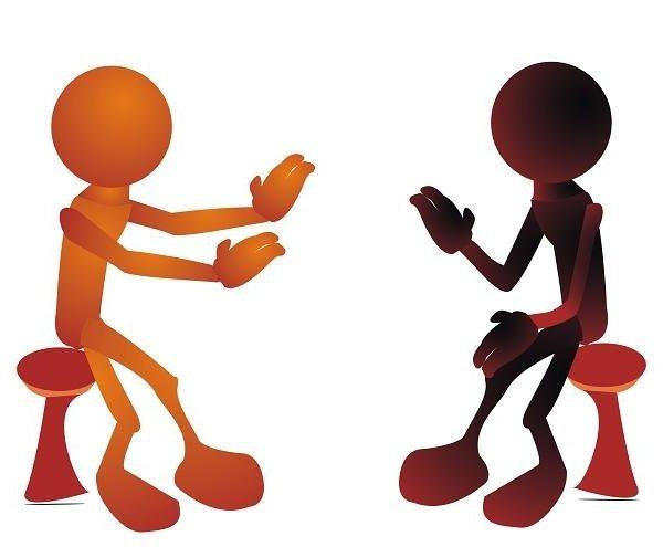 Peopletalking clipart svg freeuse download Free Two People Talking Clipart, Download Free Clip Art ... svg freeuse download